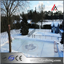 plastic hdpe ice hockey court barrier dasher board / ice skating rinks