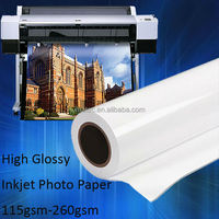 Factory Distributing 115gsm High Glossy Photo Paper Premium Quality