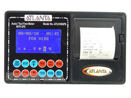 GPS Taxi Meter with Printer