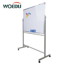 Telescopic Reversible Moible Flip Chart Magnetic White Board Stand With Wheels