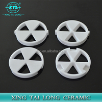 Alumina Ceramic Pipes disc Withstands High Temperature And Chemical Corrosion For Electronical Devices