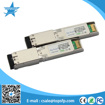 For 10g media converter Compatible Huawei optical transceiver 10G SFP BIDI module 80KM