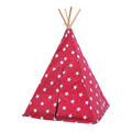 Kids Teepee Tent Indian Play Tent Children's Playhouse for Outdoor and Indoor Play
