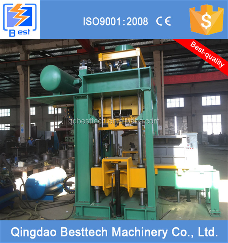 Full automatic horizontal parting sand core shooting machine