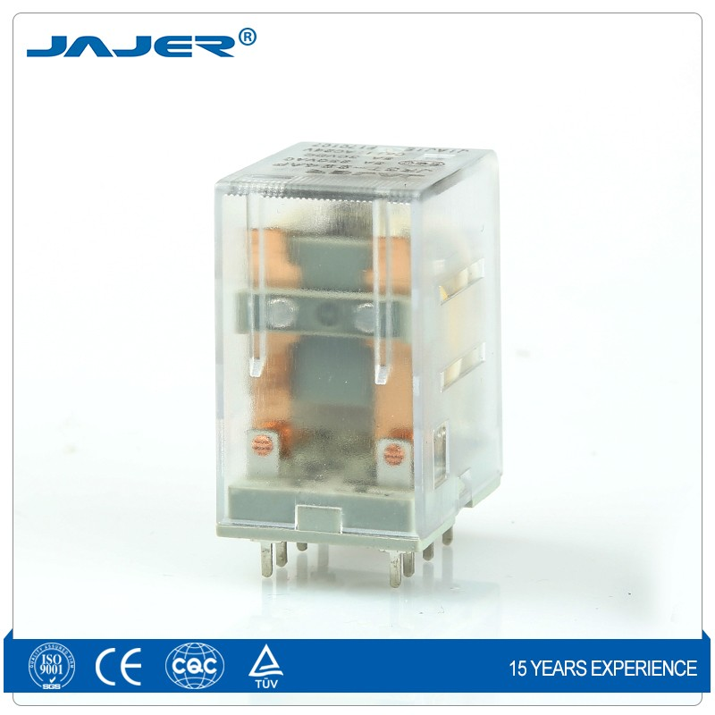 Jajer relay my2nj 12vdc omron relay my2nj ac220v my2j 220vac