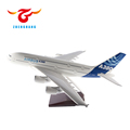 Airbus A380 model aircraft 18/37/48cm all scale options resin airplane model from Airbus, Boeing, Bombardier, Embraer plane