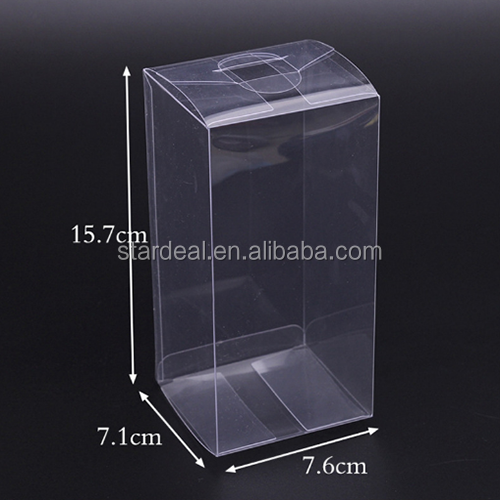 Clear custom made PET plastic gift clamshell blister verpakking