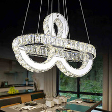 Factory Outlet LED Pendant Light Luxury Crystal Chandelier
