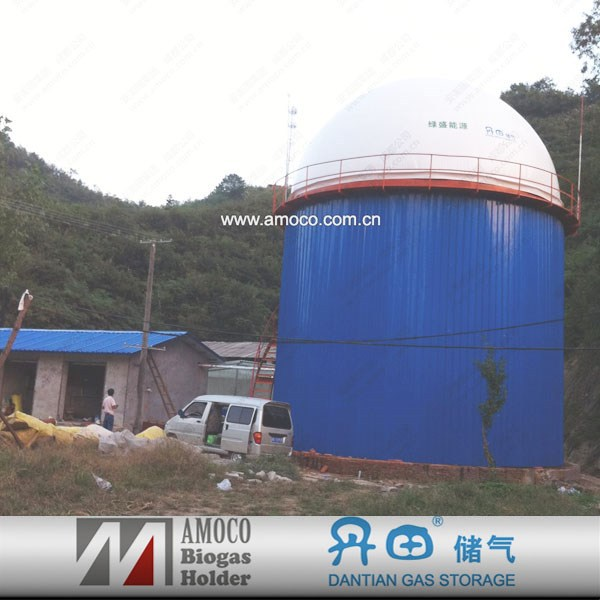 2015 new technology digester tank/pit latrine waste digester/food waste biogas digester for sale