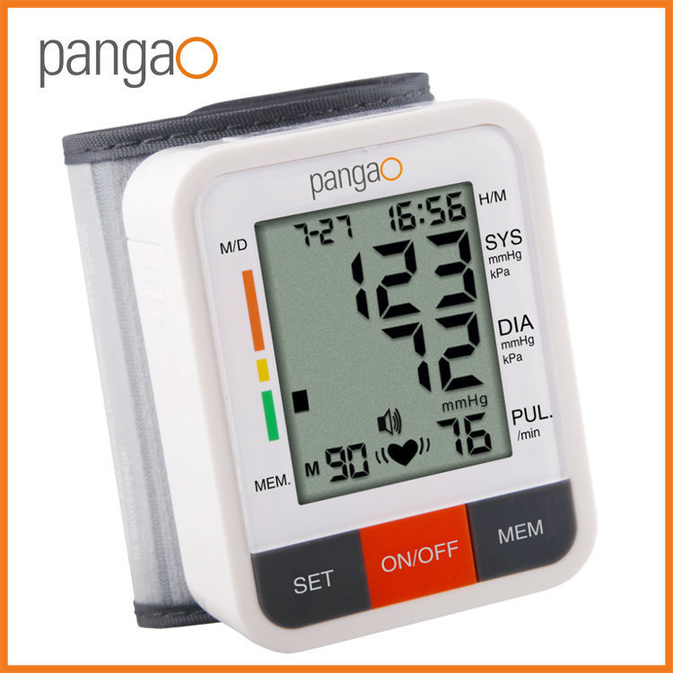 Pangao Digital Wrist Type Digital Blood Pressure Apparatus Wholesale