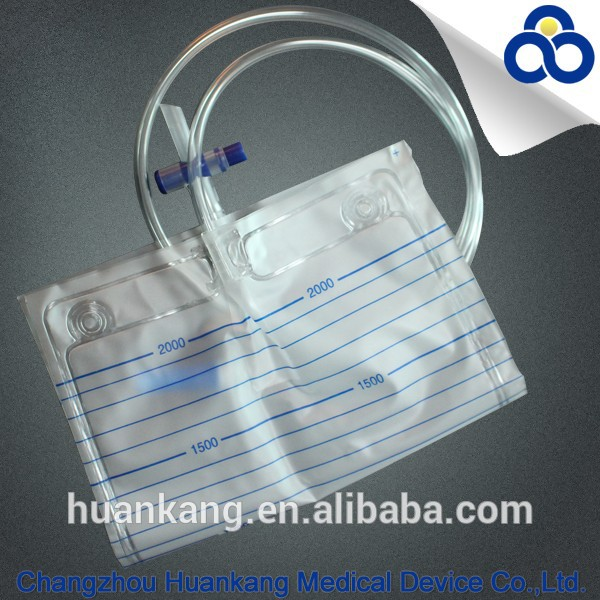Disposable Urine Bag with T Valve Manufacturer