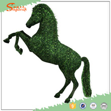 artificial topiary horse for landscaping