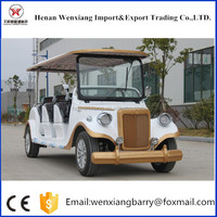 Cheap 8 seat electric battery powered utility vehicles