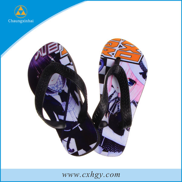 2013 China custom western beach fancy flip flop sandals summer lady hot sale flip flop for kids