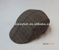 2014 cheap hiphop custom flat cap/hat ivy caps cotton warm winter for man
