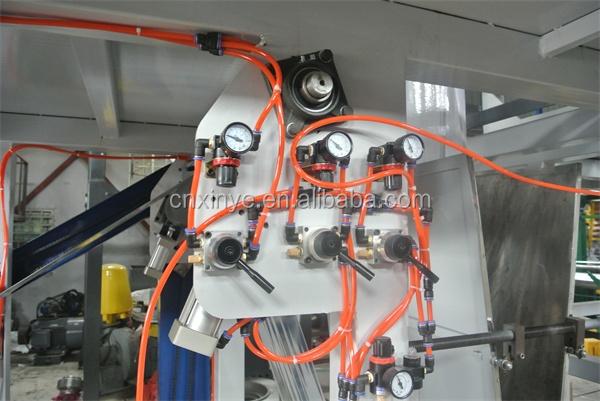 SJ series Rotary Die Head PP flim making machine Polypropylene Blown Film Extrusion Machine