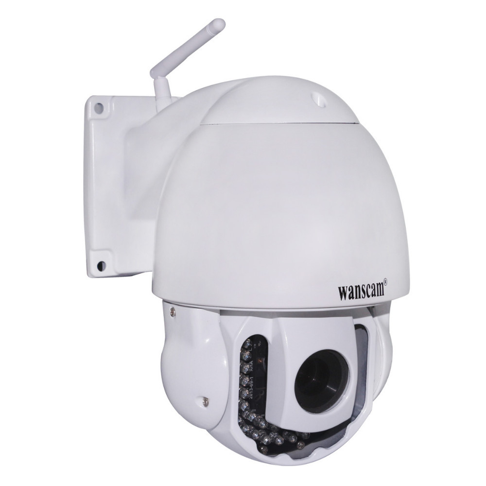 Upgrad! PTZ 5x Zoom Onvif Support TF Card Waterproof Outdoor Surveillance P2P Wanscam IP Camera
