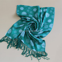 Simple Crochet Scarves Polka Dot Scarves