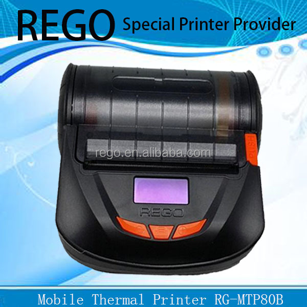 portable Android bluetooth thermal mobile industrial printer 3""