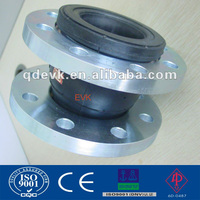 Single Sphere Flexible Rubber expansion Joint Flange end