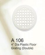 "4"" PLASTIC FLOOR GRATING - (DOUBLE) FLOOR GRATING"