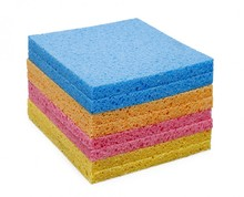 Top quality and super water absorbent cellulose sponge for wipe/dish cloth