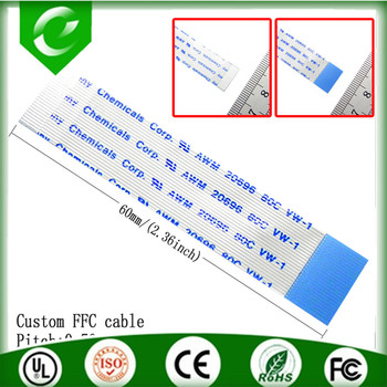 Hot ul2651 28awg flat ribbon cable ffc cable