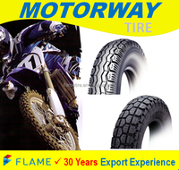 Asian Top Quality Rubber Motorcycle Tire 2.25-17