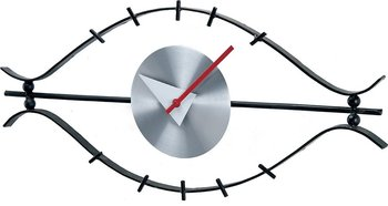 george nelson eye clock eames era wall clock buy wall clock product on. Black Bedroom Furniture Sets. Home Design Ideas