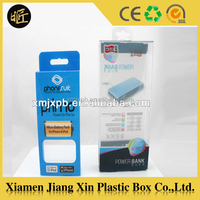 Recyclable Feature and Accept Custom Order Plastic packaging box for phone case