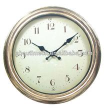 14'' plastic antique wall watch/wall mounted clock/rolling ball clock