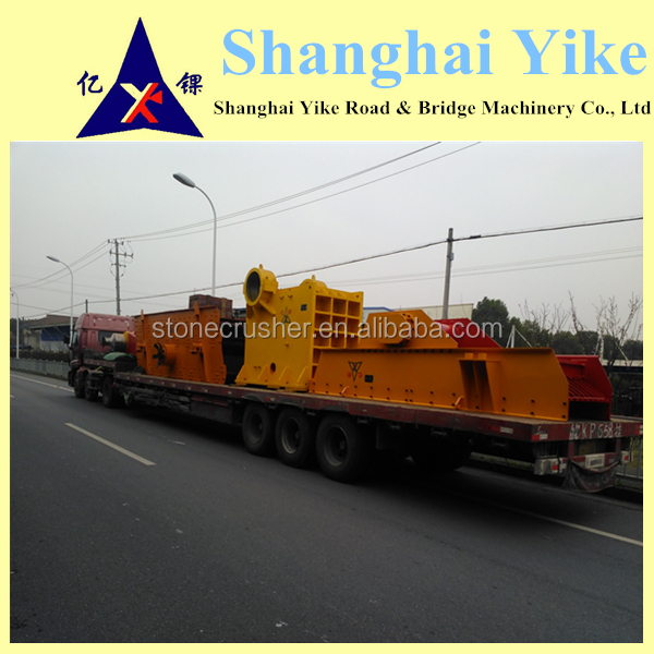 China famous brand high efficient easy movable mobile stone crusher for sale