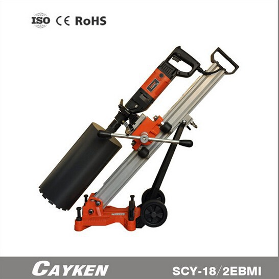 CAYKEN 132mm Double Use Angle Adjustable Stand Diamond Core Drill and Handheld Core Drill Machine SCY-18/2EBMI