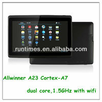 Q88 Allwinner A23 Android 4.1 MID 7 Inch google android Tablet PC With 512MB/4GB