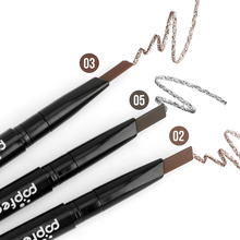 High Quality Popfeel Rotating Automatic Eyebrow Pencil Natural Waterproof Long Lasting Eyebrow Enhancer Make Up Tool
