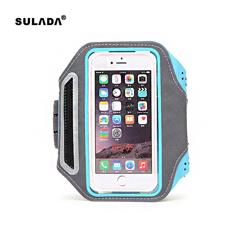 Running Sport Arm Wrist Mobile Phone Cases Cover Hand Bag Bracelet For Smart Phone Waterproof Pouch