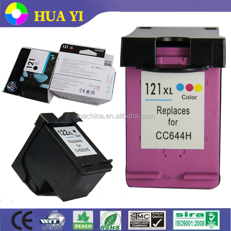 ink cartridge united office for hp 121 121xl remanufactured ink cartridge