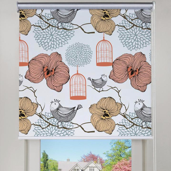 Best Price Window Blackout Blinds With Printed Roller Blind Fabric