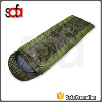 Envelop Style Wholesale heated camping sleeping bag for cold weather