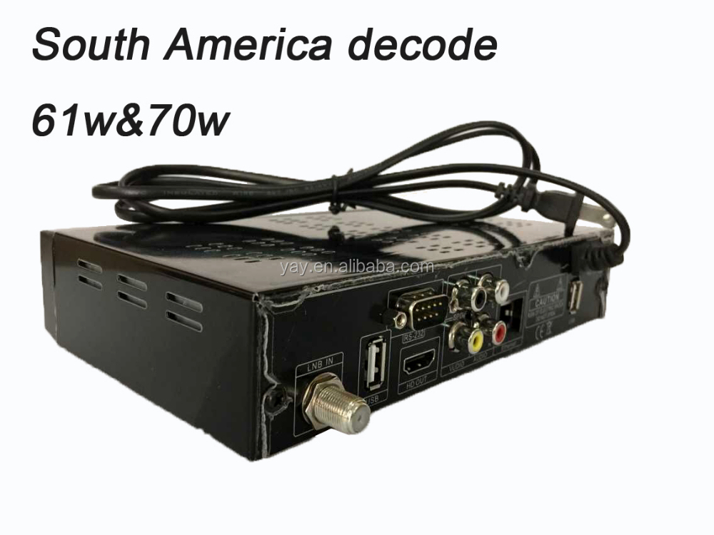 Full hd iptv box digital <strong>satellite</strong> tv receiver <strong>satellite</strong> finder latest product free iks account 61W 70Wsatellite decode