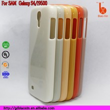 Hard Plastic Blank Phone Case,Good serive,reasonable price for Samsung galaxy s4 case