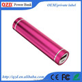 Mini Smart Power bankFlashlight Fast Charging 2600mah Mobile Phone Portable Torch Nightlight Power Bank Custom Made For iPhone 7