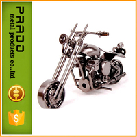 Lovely Model Motorcycles Metal Crafts Iron Motorbike Models Toy Boys Gifts Kids Toys Vintage Home Decor