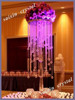 Gorgeous crystal flower stands wedding decoration supplies