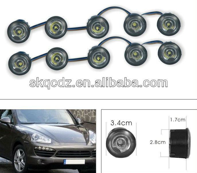 Auto led daytime running light/daytime driving light/car daytime running lights