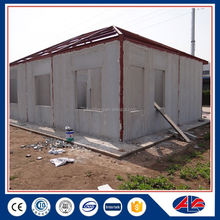 Economic Flat Roof Luxury Light Steel Prefab House