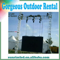 Sunrise Transparent Bright P15 LED Display Screen Outdoor LED Curtain Rental Stage Background