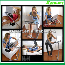 2014 Adjustable Laptop Desk Nottable Laptop Universal Adjust Stand Pad Desk Table