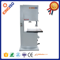 2015 Wholesales woodworking machines MJ346 automatic wood band saw machine