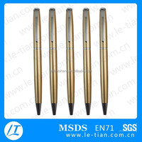 LT-Y074 New promotional inkless metal pen pocket clips